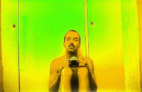 Martin Frank self-portrait